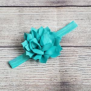 Other - Infant Girls Dark Aqua Headband